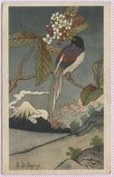 CPA - R.DELEYSIN - Oiseau Et Paysage Japonais - Edition V&Cie - Peintures & Tableaux