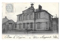 (22014-78) Beynes - La Mairie Et L'Ecole - Beynes