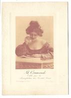 BISCUITS PERNOT - La Commande - édité Par La Manufacture Des Biscuits Pernot - Femme - Format 9.5 X 13 Cm - Werbepostkarten