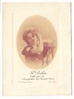 BISCUITS PERNOT - Le Préféré - édité Par La Manufacture Des Biscuits Pernot - Femme - Format 9.5 X 13 Cm - Werbepostkarten