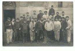 CPA Militaria Carte Photo Guerre 14/18 Poilus 1914 Soldats à Localiser - Sans Indication Au Recto - Da Identificare