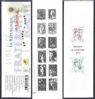 2013 Carnet Gommé BC 1520A La 5é République Au Fil Du Timbre - NEUF Qualité LUXE ** NON Plié - Booklets