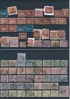 GRANDE BRETAGNE - BELLE COLLECTION AVEC BONNES VALEURS DE 1668 TIMBRES OBLITERES AVEC TEINTES/CACHETS ET PERFORES - Groot-Brittannië