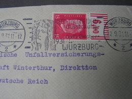 Würzburg Austellung , Oberrand 1931 - Deutschland