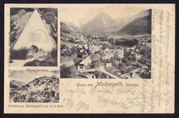 Malborghetto Valbruna - Naborjet-Ovčja Vas (slovenia) OLD POSTCARD 1903 (see Sales Conditions) - Udine