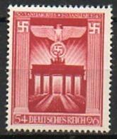 ALLEMAGNE - Troisième Reich - 1943 - N° 761 - (10è Anniversaire De La Prise Du Pouvoir Par Le Parti National-socialiste) - Allemagne