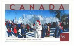 Canada (Scott No.2019 - Carnaval De - Quevec - Carnaval) [**] Autocollant / Self Adhesive - 1952-.... Règne D'Elizabeth II