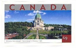 Canada (Scott No.2020 - Oratoire - Saint-Joseph - Oratory) [**] Autocollant / Self Adhesive - 1952-.... Règne D'Elizabeth II