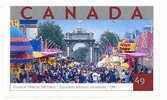 Canada (Scott No.2023 - Expo Totonto / Canadian National Exhibition - Toronto ) [**] Autocollant / Self Adhesive - 1952-.... Règne D'Elizabeth II