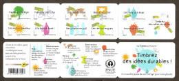 2008 Carnet Adhésif Environnement -BC 183 Ou BC 4205- NEUF LUXE ** NON Plié - Commémoratifs