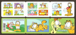 2008 Carnet Adhésif SOURIRES De Garfield -BC 194 Ou BC 4271- NEUF LUXE ** NON Plié - Commémoratifs