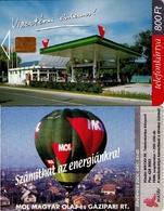 TARJETA TELEFONICA DE HUNGRIA. MOL '99 - Air Balloon. HU-S-1999-02. (088) - Hungría