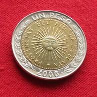 Argentina 1 Peso 2006 KM# 112.1  Argentine - Argentina