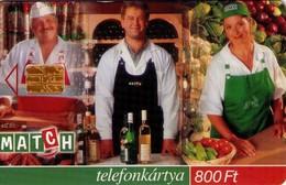 TARJETA TELEFONICA DE HUNGRIA. MATCH. HU-S-2000-05. (119) - Hungría