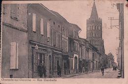 Grenade Sur Garonne Rue Gambetta (1939,Tabac) - Autres Communes
