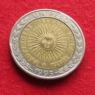 Argentina 1 Peso 1995 B  KM# 112.3 Error Erreur PROVINGIAS  Argentine - Argentina