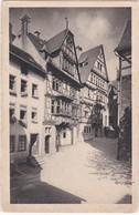 E760 MARBURG I. HESSEN - HINTERE ANSICHT DES GESCHÄFTSHAUSES - SCHUHMARKT. ERBAUT 1895 UND 1912 - Marburg
