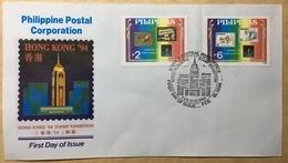 Philippines 1994 (FDC) - Hong Kong Exhibition ----- (boxfdcphl) - Francobolli Su Francobolli
