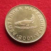 Macedonia 2 Denari 2001 KM# 3 Macedoine Mazedonien - Macedonia