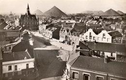 HENIN-LIETARD  -  CPSM  - Vue Générale Vers L' Hôtel De Ville - Terrils  - N°20 - Henin-Beaumont
