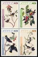 Canada (Scott No.2039a - Oiseaux / John James Audubon / Birds) [**] - 1952-.... Règne D'Elizabeth II