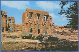 EGYPT / EGYPTE - THEBES - Les Colosses De Memnon / The Memnon Colossi - Luxor