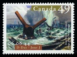 Canada (Scott No.2043 - Jour J / D-Dat) [**] - 1952-.... Règne D'Elizabeth II