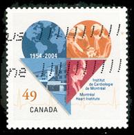 Canada (Scott No.2056 - Institut De Cardiologie / Mtl Heart Institute) (o) - 1952-.... Règne D'Elizabeth II