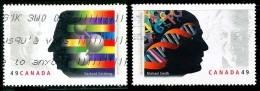 Canada (Scott No.2061-62 - Prix / Nobel / Prize) (o) Série / Set - 1952-.... Règne D'Elizabeth II