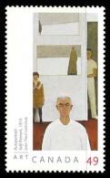 Canada (Scott No.2067 - Jean-Paul Lemieux) [**] - 1952-.... Règne D'Elizabeth II