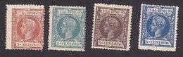 Cuba, Scott #160, 162-163, 166, Mint Hinged, King Alfonso XIII, Issued 1898 - Cuba (1874-1898)