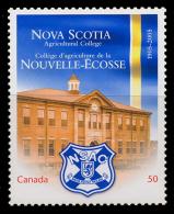 Canada (Scott No.2089 - Nova Scotia Agricultural College) [**] - 1952-.... Règne D'Elizabeth II