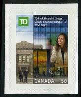 Canada (Scott No.2094 - Banque Toronto Dominion) [**] - 1952-.... Règne D'Elizabeth II