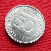 Slovenia 50 Stotinov 1996 KM# 3 Eslovenia Slovenija Slovenie - Slovénie