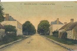Bouloire (72 Sarthe) Promenade De La Ville - édit Pasteau Luxe Colorisée N° 10 Circulée 1908 - Bouloire
