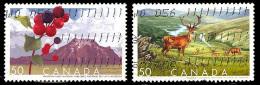 Canada (Scott No.2105-06 - Reserves) (o) - 1952-.... Règne D'Elizabeth II