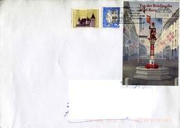 Enveloppe De SUISSE Avec Timbres Des Années 1958(602),1965(763) Et 2010(BF46) - Switzerland
