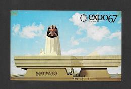 EXPO67 - EXPO 67 - MONTRÉAL CANADA - PAVILLON DE LA GRANDE BRETAGNE - GREAT BRITAIN PAVILION - Expositions