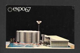 EXPO67 - EXPO 67 - MONTRÉAL CANADA - PAVILLON COMINCO DU CANADIAN PACIFIC - THE CANADIAN PACIFIC COMINCO PAVILION - Expositions