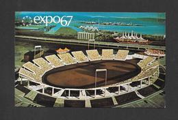 EXPO67 - EXPO 67 - MONTRÉAL CANADA -  AUTOSTADE - AUTOMOILE STADIUM - Expositions