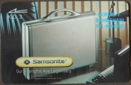 Kuwait - GPT, 15KWTB, Samsonite Cases, 3K.D., 10.000ex, 1993, Used - Kuwait