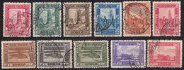 SOMALIA - 1932/1937 - Lotto Di 11  Valori Obliterati: Yvert 162, 164, 165, 166, 167, 168, 170, 171, 172, 173 E 174. - Somalia