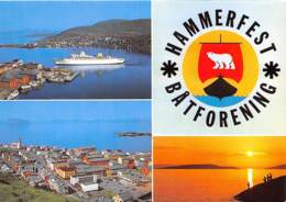 NORVEGE HAMMERFEST Verdens Nordligste By Norway 25(scan Recto-verso) MA1375 - Norwegen