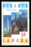 Canada (Scott No.2116 - Alberta) [**] - 1952-.... Règne D'Elizabeth II