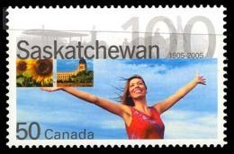 Canada (Scott No.2117 - Saskatchewan) [**] - 1952-.... Règne D'Elizabeth II