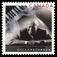 Canada (Scott No.2118 - Oscar Peterson) (**) - 1952-.... Règne D'Elizabeth II