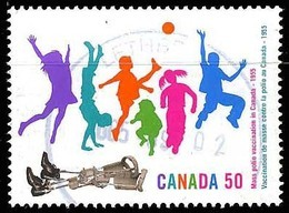 Canada (Scott No.2119 - Vaccination Contre La / Polio / Vaccination) (o) - 1952-.... Règne D'Elizabeth II