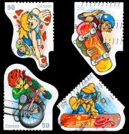 Canada (Scott No.2121a-d - Sport D'adolescents / Youth Sports) (o) Série / Set - 1952-.... Règne D'Elizabeth II
