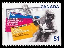 Canada (Scott No.2161i - La Crosse) [**] Auto-collant / Self Adhesive NOTE Die Cut To Shape - 1952-.... Règne D'Elizabeth II