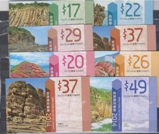 China Hong Kong 2014 & 2018 Definitive — Geological Park/Landscapes/Views 8 Stamp Booklets In Total - 1997-... Région Administrative Chinoise